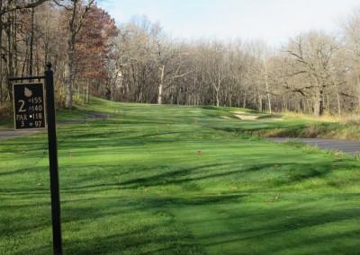 The Oaks Golf Course Hole 2 Tee