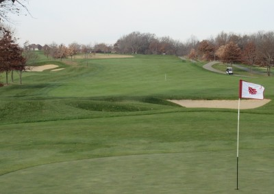 The Oaks Golf Course Hole 3 Green