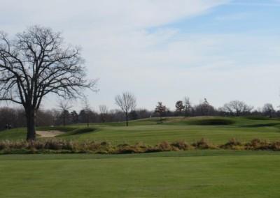 The Oaks Golf Course Hole 6 Approach