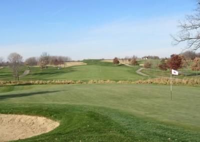 The Oaks Golf Course Hole 6 Green
