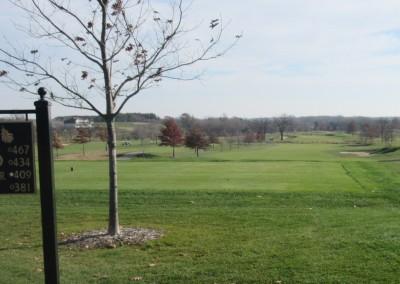 The Oaks Golf Course Hole 6 Tee Shot