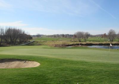 The Oaks Golf Course Hole 7 Green