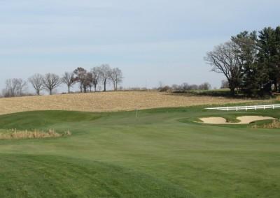 The Oaks Golf Course Hole 8 Approach