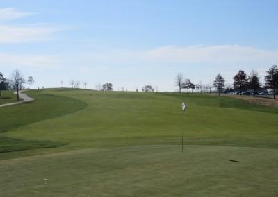 The Oaks Golf Course Hole 8 Green