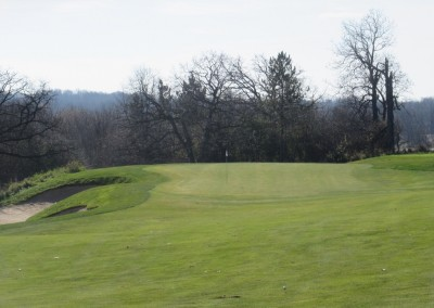 The Oaks Golf Course Hole 9 Approach