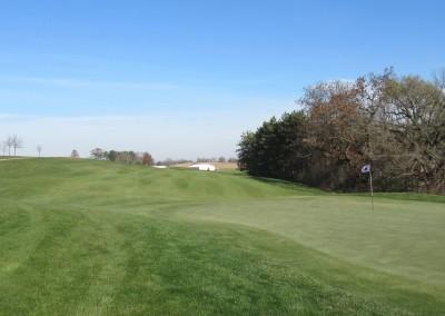 The Oaks Golf Course Hole 9 Green
