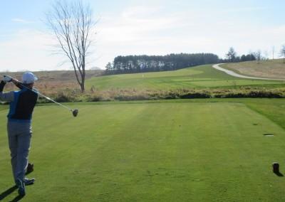 The Oaks Golf Course Hole 9 Tee