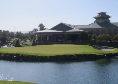 Bali Hai Golf Club Tee D Hole 9 Green