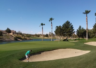 Chimera Golf Club Bunker