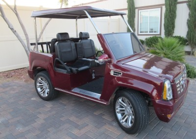 Chimera Golf Club Escalade Cart
