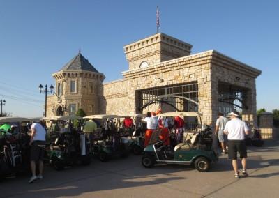 Royal Links Golf Club Las Vegas Cart Staging