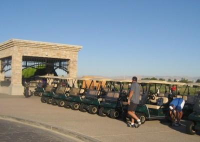 Royal Links Golf Club Las Vegas Clubhouse Carts