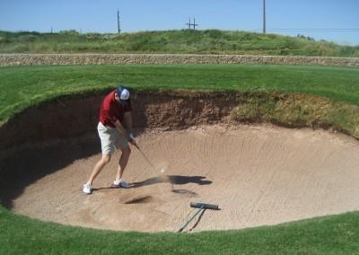 Royal Links Golf Club Las Vegas Hole 10 Road Hole Bunker JK