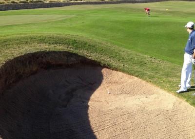 Royal Links Golf Club Las Vegas Hole 10 Road Hole Bunker Jason Kauflin