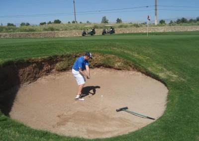 Royal Links Golf Club Las Vegas Hole 10 Road Hole Bunker MM