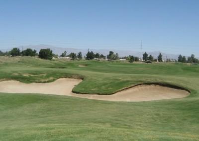 Royal Links Golf Club Las Vegas Hole 18 Hell's Bunkers