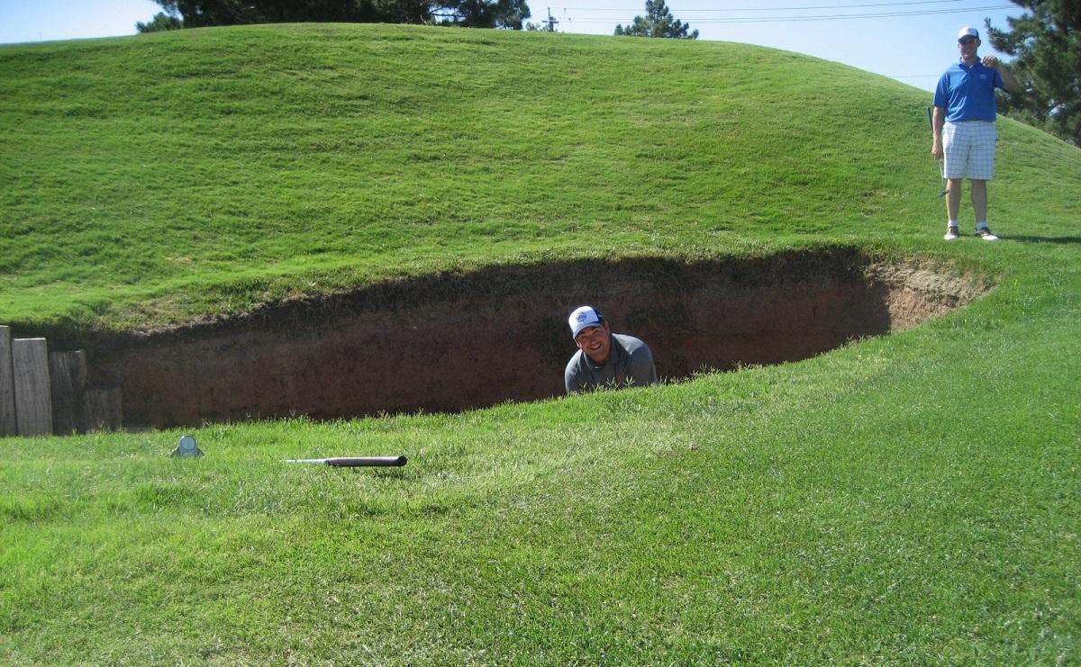 Royal Links Golf Club Las Vegas Hole 8 Postage Stamp RE