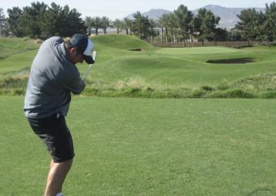 Royal Links Golf Club Las Vegas Hole 8 Postage Stamp Tee