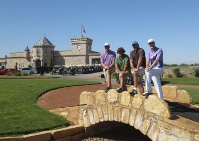 Royal Links Golf Club Las Vegas Swilcan Bridge Foursome