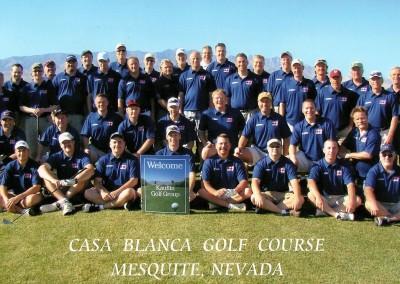 The Casablanca Golf Course Mesquite Group Photo