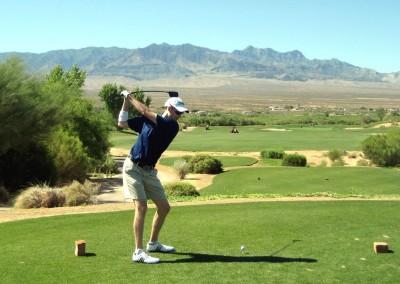 The Casablanca Golf Course Mesquite Hole 1 Tee Jason Kauflin