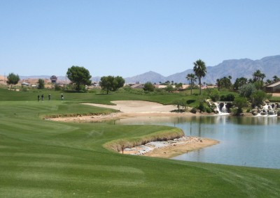 The Casablanca Golf Course Mesquite Par 3 Tee