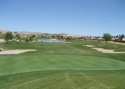 The Casablanca Golf Course Mesquite Par 5 Green