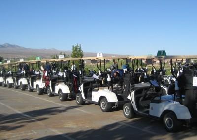 The Casablanca Golf Course Mesquite Staging Area