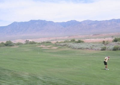 The Palms Golf Course Mesquite Hole 15 Approach