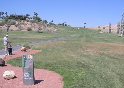 The Palms Golf Course Mesquite Hole 18 Tee