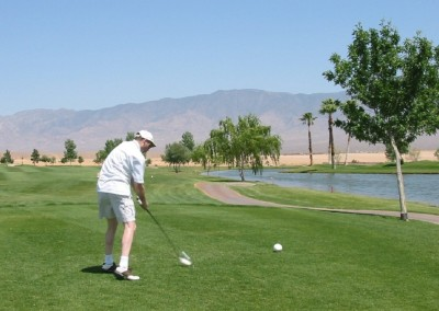 The Palms Golf Course Mesquite JJK Tee Shot