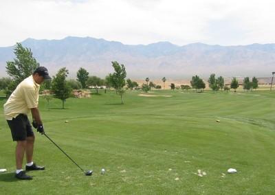 The Palms Golf Course Mesquite Par 4 Tee RE