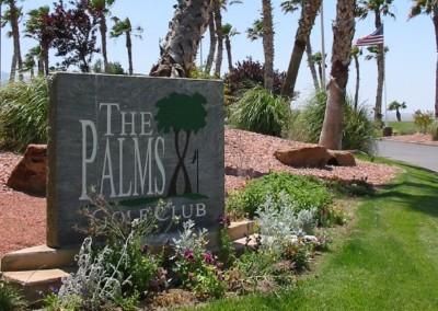 The Palms Golf Course Mesquite Sign