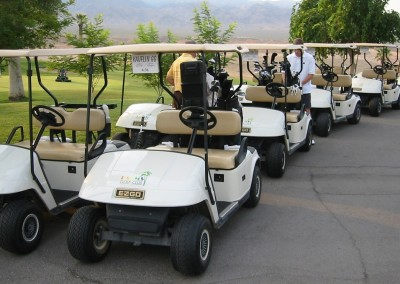 The Palms Golf Course Mesquite Staging Area