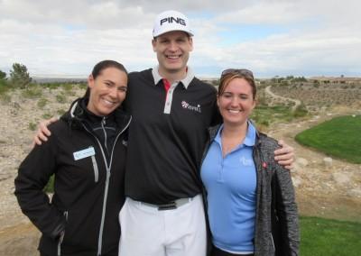 The Revere Golf Club Lexington Course Hole 10 Tee Cart Girls
