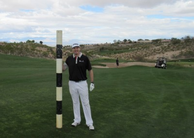 The Revere Golf Club Lexington Course Hole 10 Yardage Pole