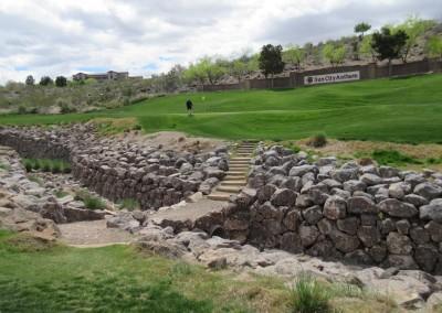 The Revere Golf Club Lexington Course Hole 16 Approach Rocks