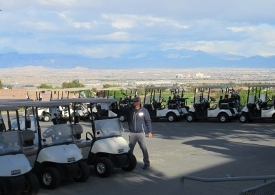 The Revere Golf Club Staging Area