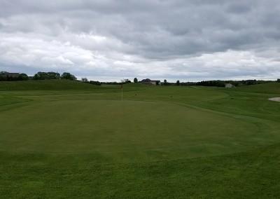 Broadlands Golf Club Hole 1 Green