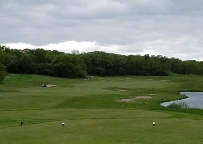 Broadlands Golf Club Hole 2 Tee Shot