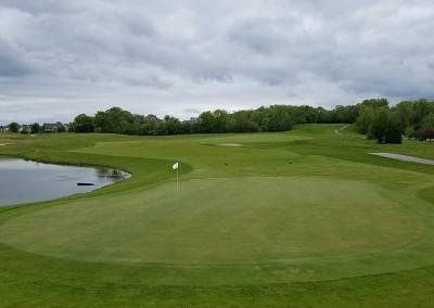 Broadlands Golf Club Hole 3 Green