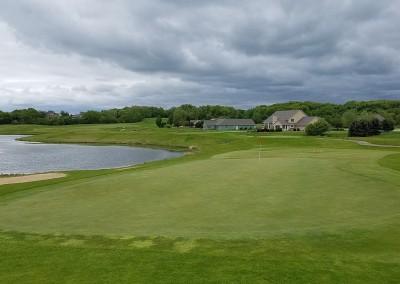 Broadlands Golf Club Hole 4 Green