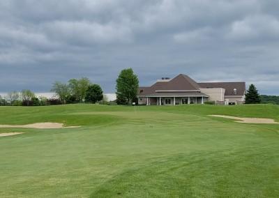 Broadlands Golf Club Hole 9 Approach
