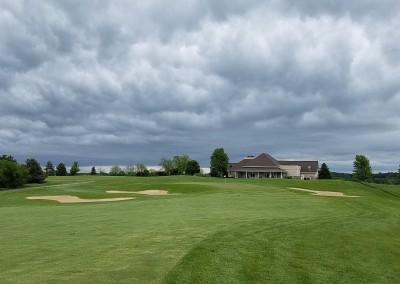 Broadlands Golf Club Hole 9 Clouds
