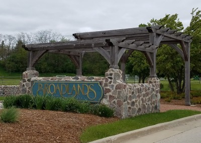 Broadlands Golf Club Sign
