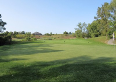 Morningstar Golfers Club Hole 8 Green