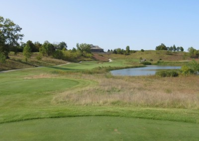 Morningstar Golfers Club Hole 9 Back Tee