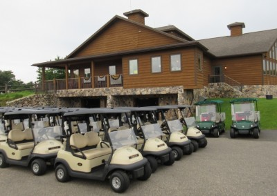 Northern Bay Castle Course Cart Staging Area
