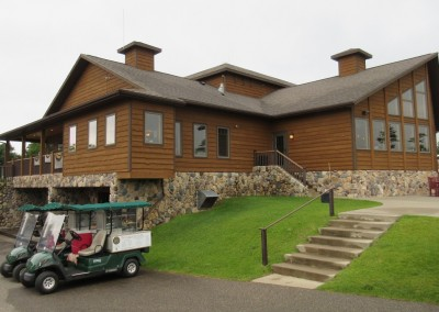 Northern Bay Castle Course Clubhouse Back