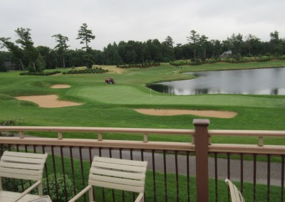 Northern Bay Castle Course Clubhouse Deck